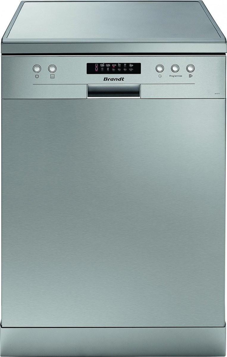 Brandt DFH 13117X Inox Ελεύθερο Πλυντήριο Πιάτων 60cm