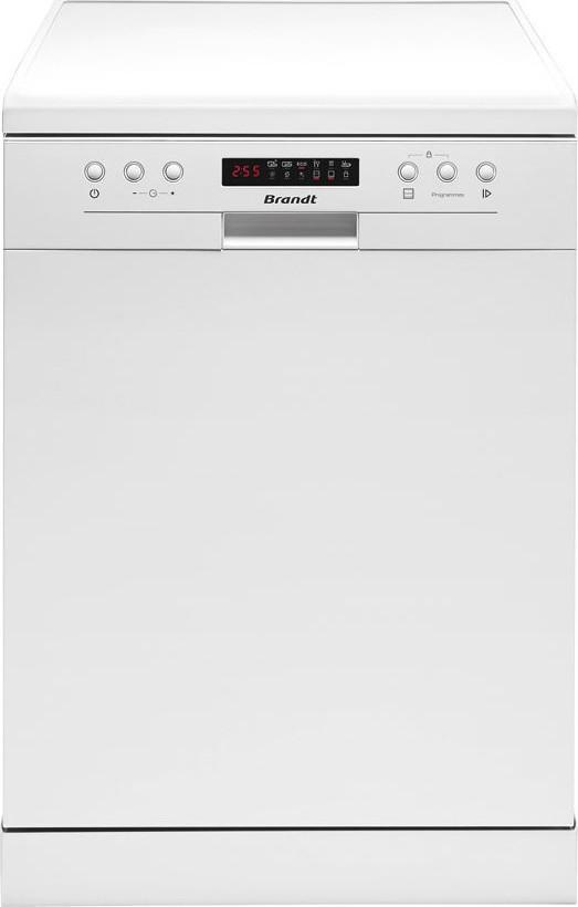 Brandt DFH 13117W Λευκό Ελεύθερο Πλυντήριο Πιάτων 60cm