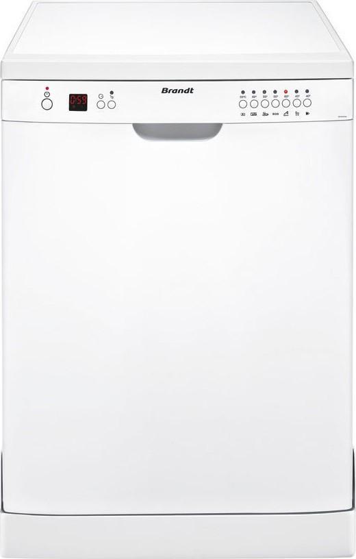 Brandt DFH 12127W Λευκό Ελεύθερο Πλυντήριο Πιάτων 60cm