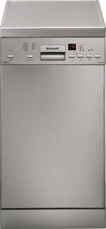 Brandt DFS 1010X Inox Ελεύθερο Πλυντήριο Πιάτων 45cm