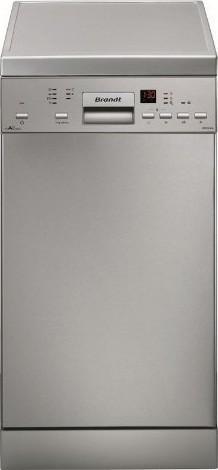 Brandt DFS 1010X Inox Ελεύθερο Πλυντήριο Πιάτων 45cm